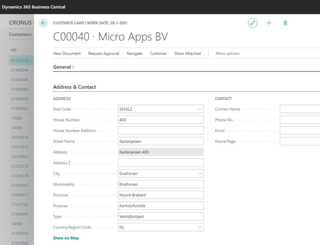 Installation Postcode Check NL 4 - Micro Apps