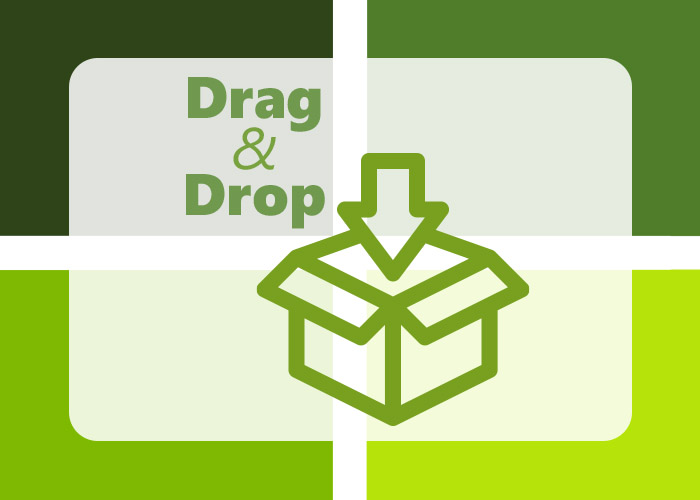 Drag and Drop Productivity App
